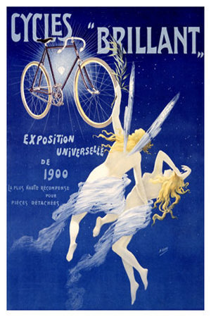 1900 advert for Cycles Brillant