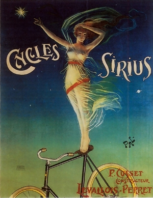 1899 advert for Cycles Sirius