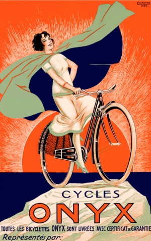 Advert for Cycles Onyx