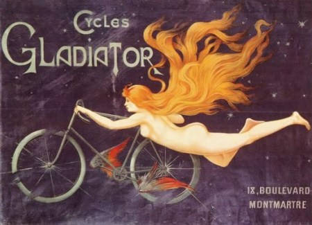 Advert for cycles Gladiator