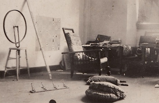 Duchamp's Parisian Studio, circa 1913
