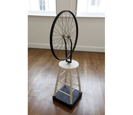 "Sturtevant, ""Duchamp Bicycle Wheel"" 1969-1973"