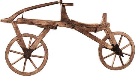 Laufmaschine, Draisine, or Hobby Horse, © Deutsches Zweirad- und NSU-Museum, Neckarsulm