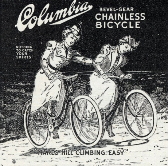 Columbia Cycles advert