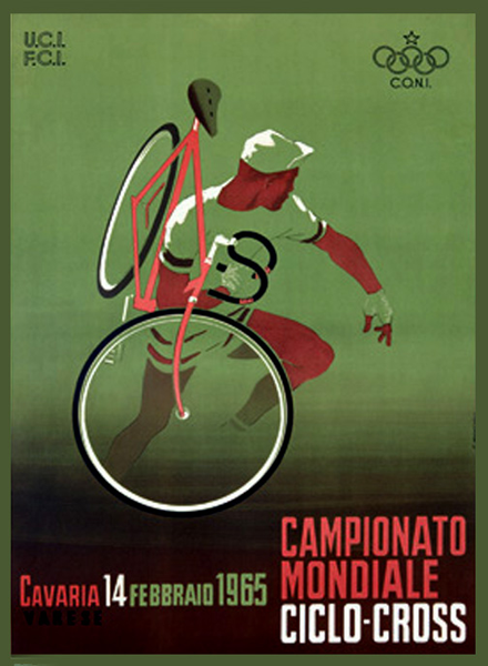 Cylco-Cross World Championships poster 1965