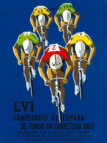 Championship of Spain poster 1957