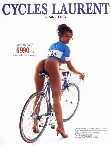 Advert for Cycles Laurent