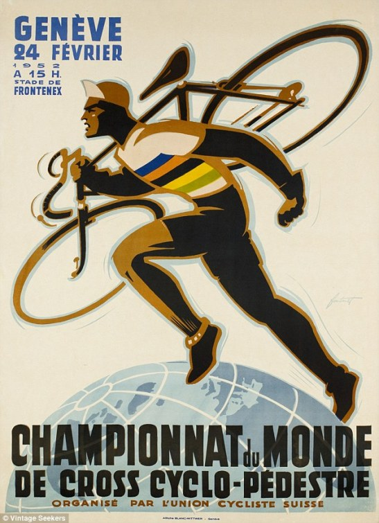 Cyclo-Cross World Championships poster 1952