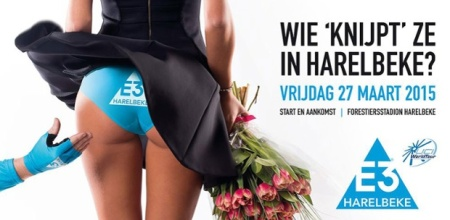 The 2015 E3 Harelbeke race poster. Photo © Handout