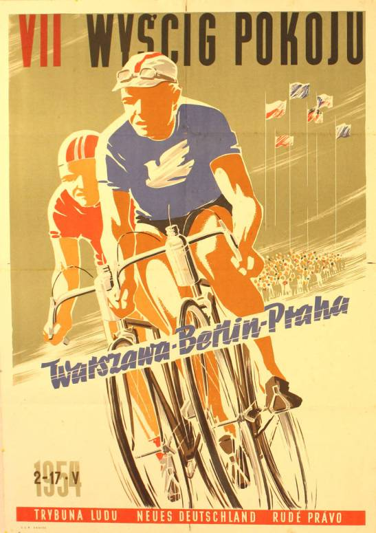 Peace race poster 1954