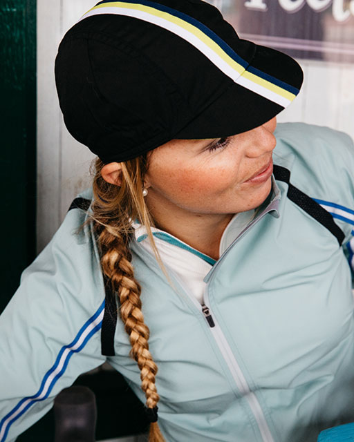 Rapha hats and caps ad. © Rapha 2015
