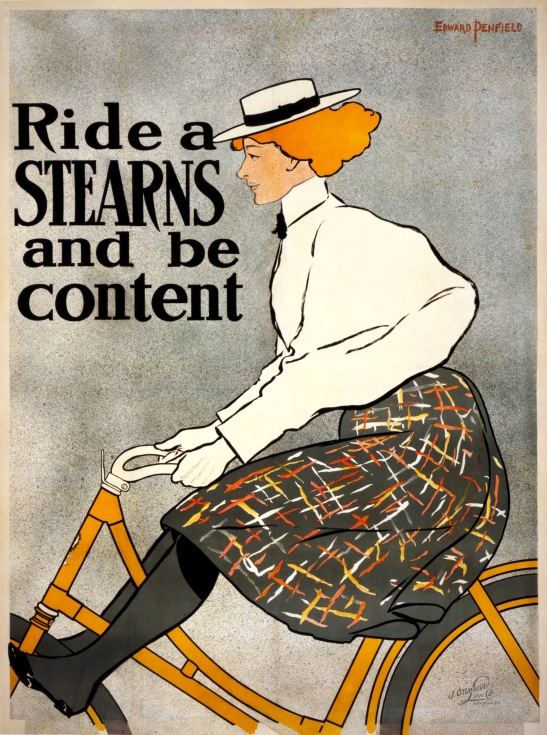 Stearns poster from 1895. Public Domain