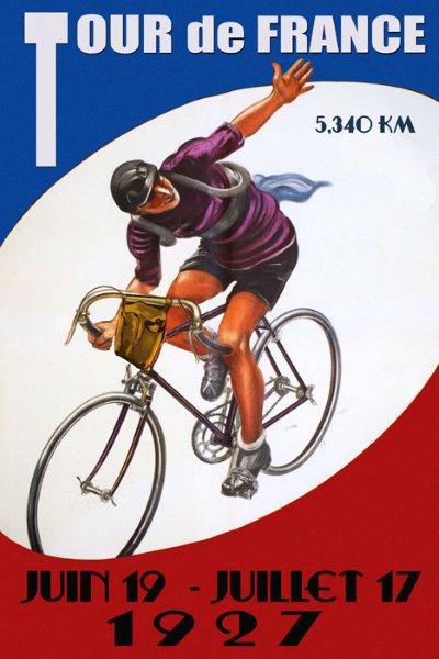 1927 Tour de France poster