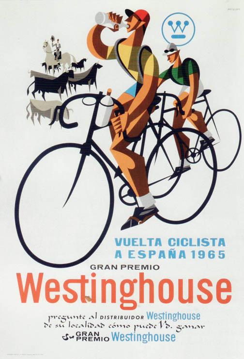 Vuelta a Espana poster 1965