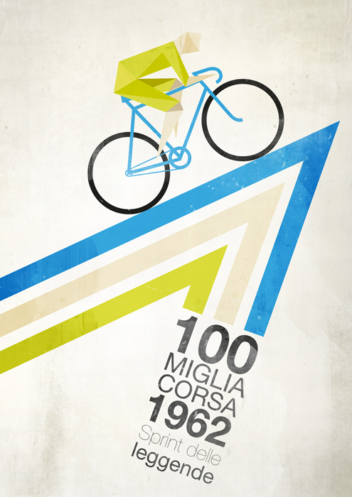 Cycling World Championships poster 1962