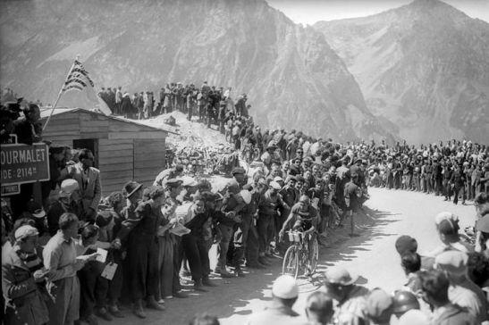 Bartali on the Col de Tourmalet
