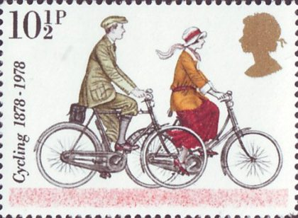 United Kingdom 1978, 100 Years of Cycling