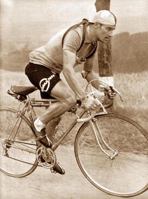 Fritz Schär in the 1953 Tour de France