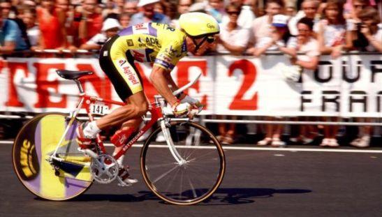 Greg LeMond, stage 21 ITT, Paris 1989