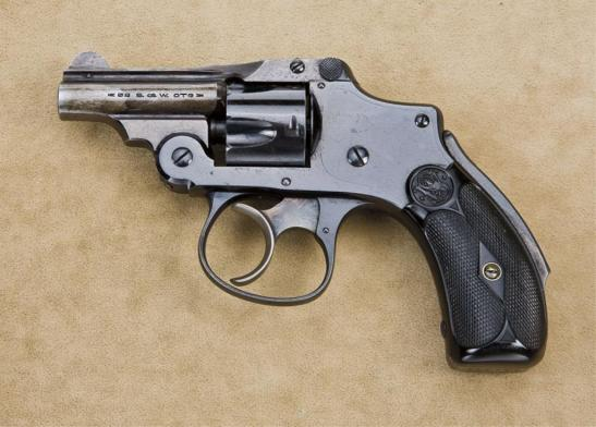 An example of an Iver Johnson Cycle Revolver