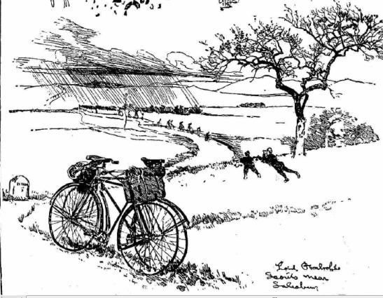 Lord Pembroke's scouts near Salisbury