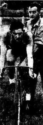 Bill Kirkham at the Austral Wheel Race (The Dandenong Journal (Vic. : 1927 - 1954), Wednesday 15 December 1948)