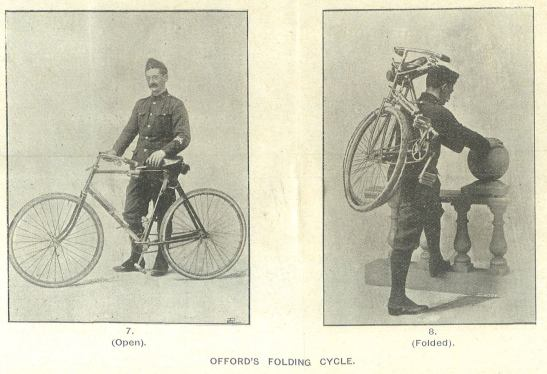 Offord's Folding Cycle (Source: RUSI Journal, 1899)
